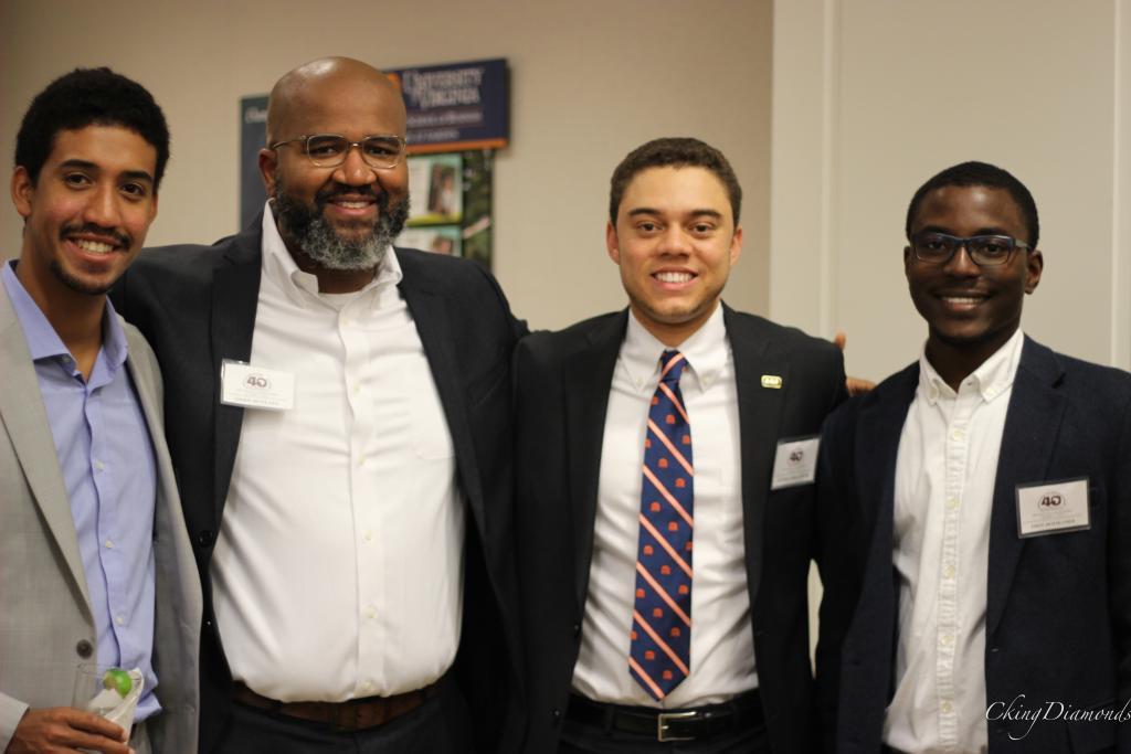Former Assistant Dean Oren McClain, African-American Affairs and UVA students