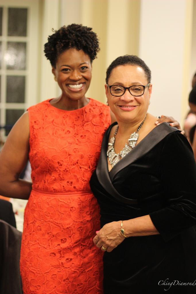 Kimberley C. Bassett, Associate Dean and Patrice Preston Grimes, Associate Dean, African-American Affairs