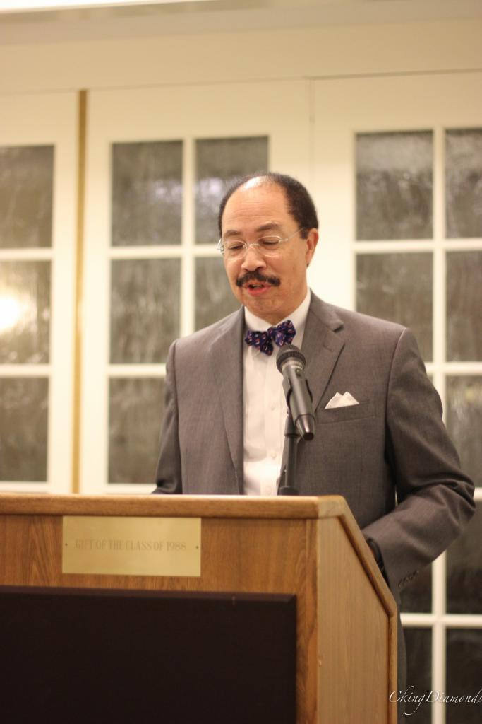 Guest Speaker George Keith Martin (CLAS '75) First African-American Rector, University of Virginia Board of Visitors